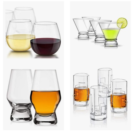 金盒特价!Amazon精选 Joyjolt  玻璃 杯具大促销!