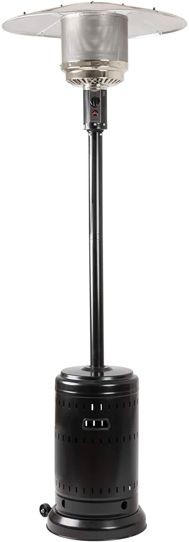AmazonBasics 46,000-BTU Patio Heater with Wheels
