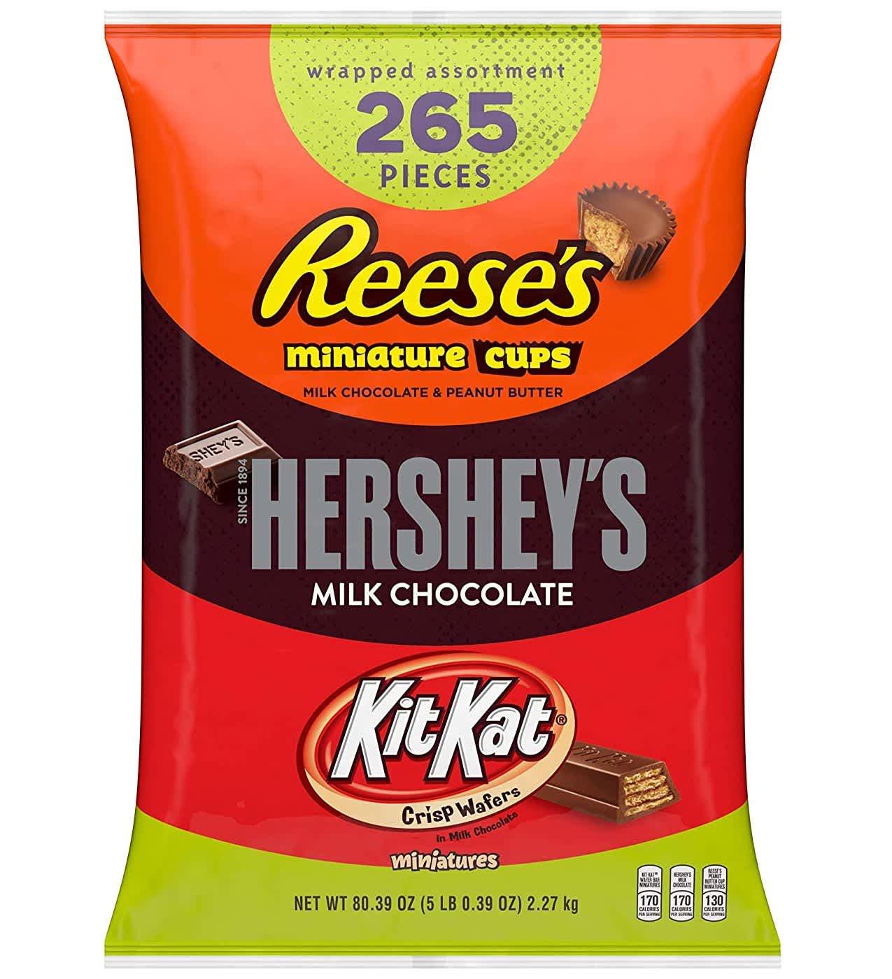 Hershey's, Kit Kat, Reese's 5-lb. Variety Pack
