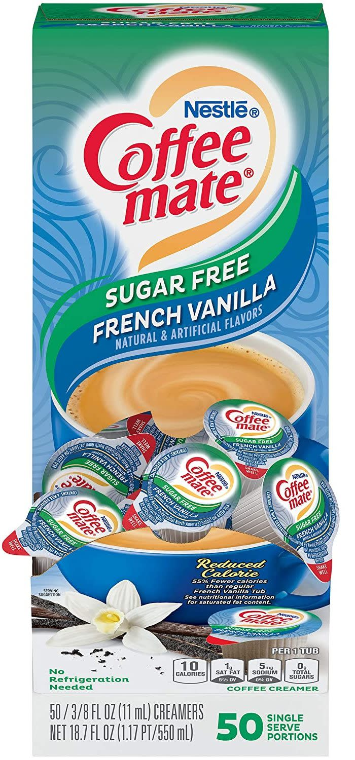 Nestle Coffee Mate French Vanilla Liquid Creamer 50-Pack