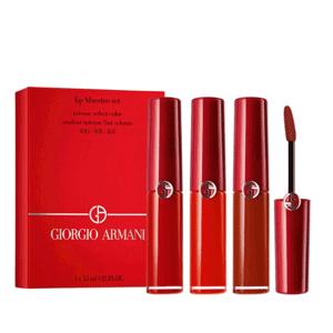 全员开放!Armani 阿玛尼Mini红管唇釉套装(400/401/405)
