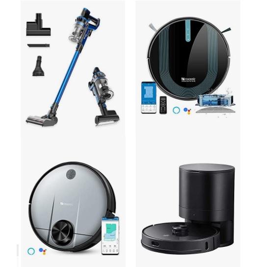 金盒特价!Amazon精选 Proscenic 吸尘器和扫地机器人促销!