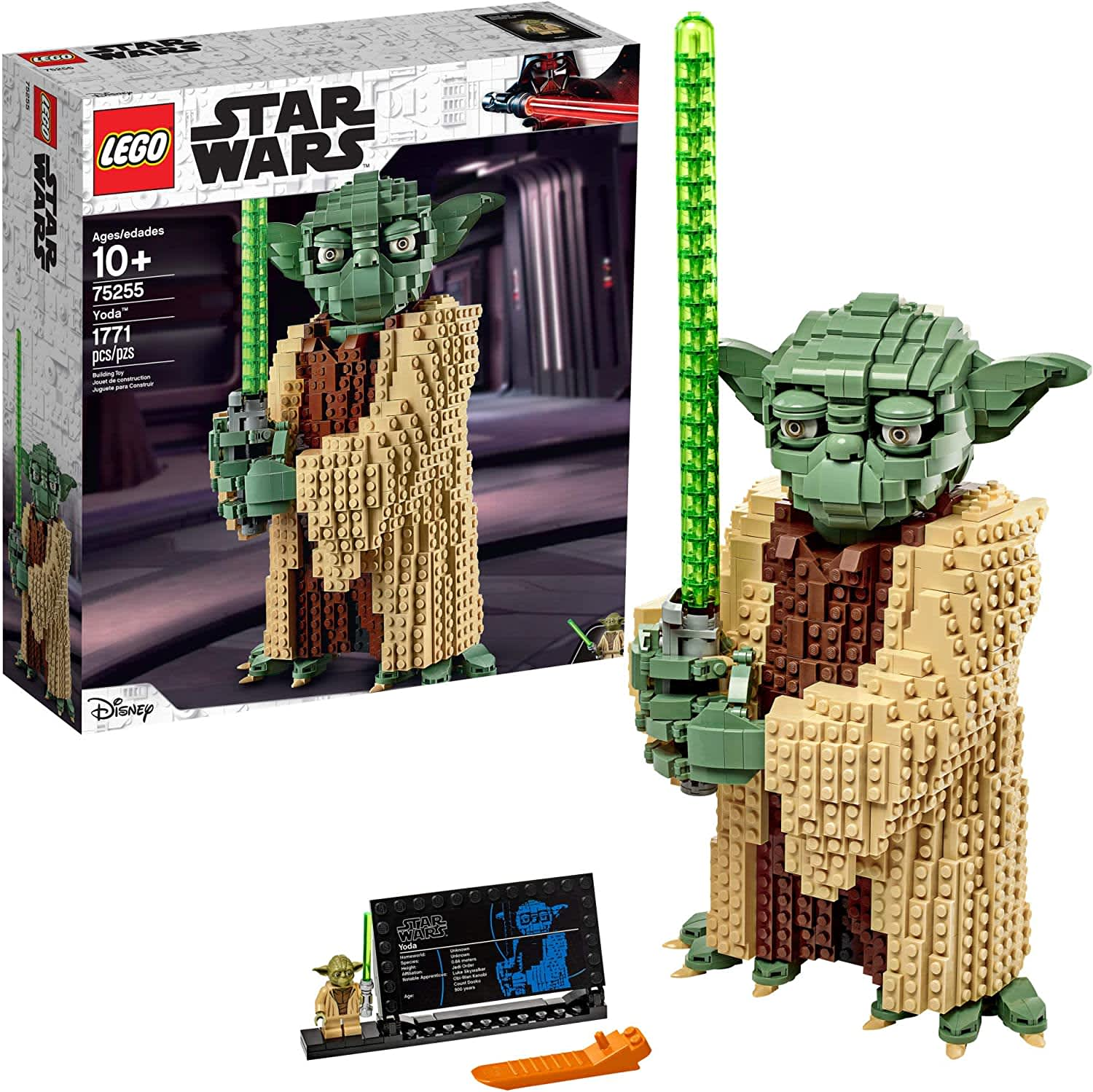 LEGO Star Wars: Attack of the Clones Yoda Building Kit