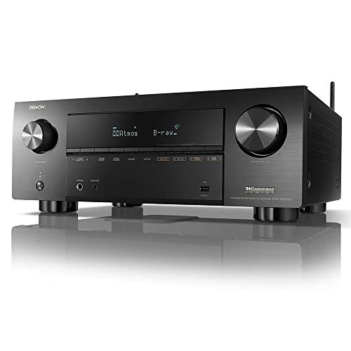 Denon AVR-X3700H 8K Ultra HD 9.2 Channel (105 Watt X 9) AV Receiver 2020 Model - 3D Audio & Video with IMAX Enhanced, Built for Gaming, Music Streaming, Alexa + HEOS