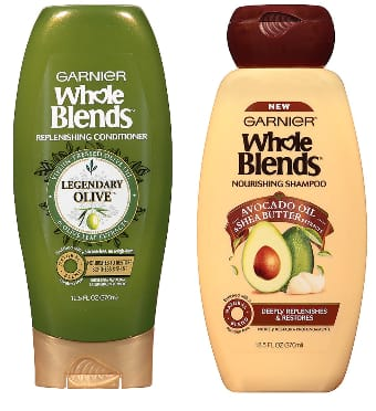 Garnier Whole Blends Shampoo & Conditioner (various formulas)