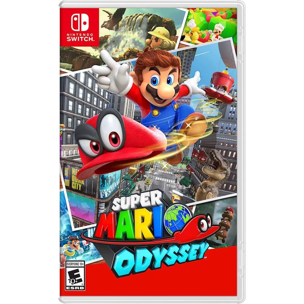 Nintendo Switch Games: Super Mario Odyssey, Yoshi's Crafted World, New Super Mario Bros U Deluxe