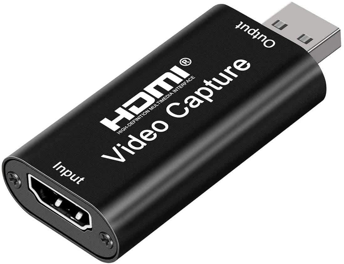 LQRLY 1080p HDMI to USB 2.0 Audio Video Capture Card