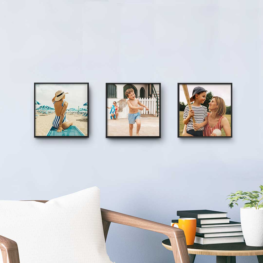 Walgreens Photo: TilePix Customized Photo Framed Prints: 3-Pack $11.25 or Single