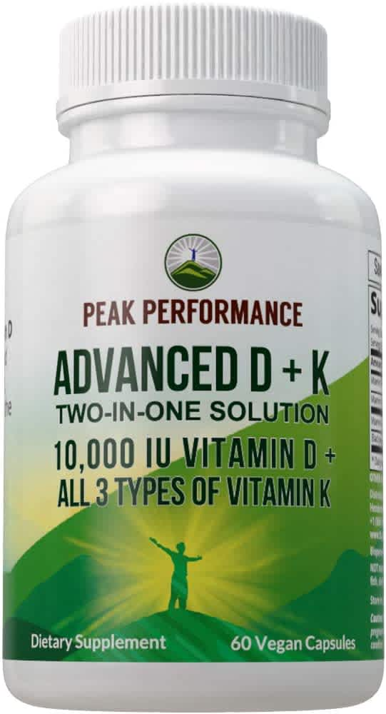 Peak Performance Health Supplements at Amazon