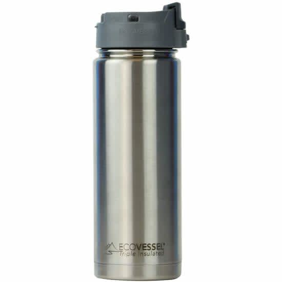 EcoVessel Perk Stainless Steel 16-oz. Bottle