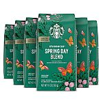 6-Pack 10-Oz Starbucks Medium Roast Ground Coffee