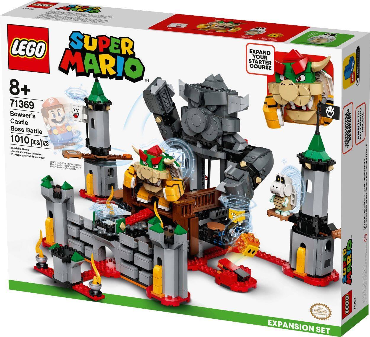 LEGO Super Mario Bowser's Castle $79.99, Toads Treasure Hunt $48.99 and more