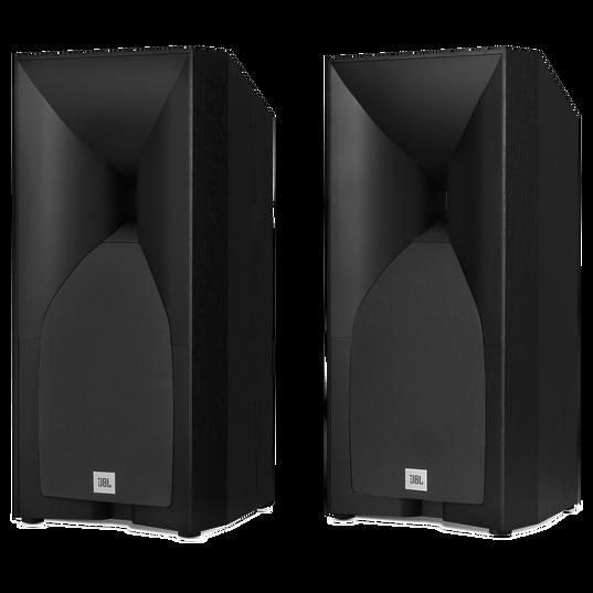"""JBL Studio 530 5-1/4"""" Bookshelf Loudspeakers in Black (Pair)"""