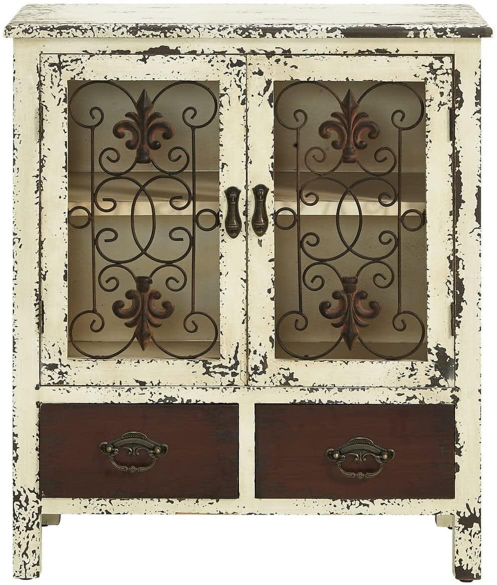 Powell Furniture 2-Door Console
