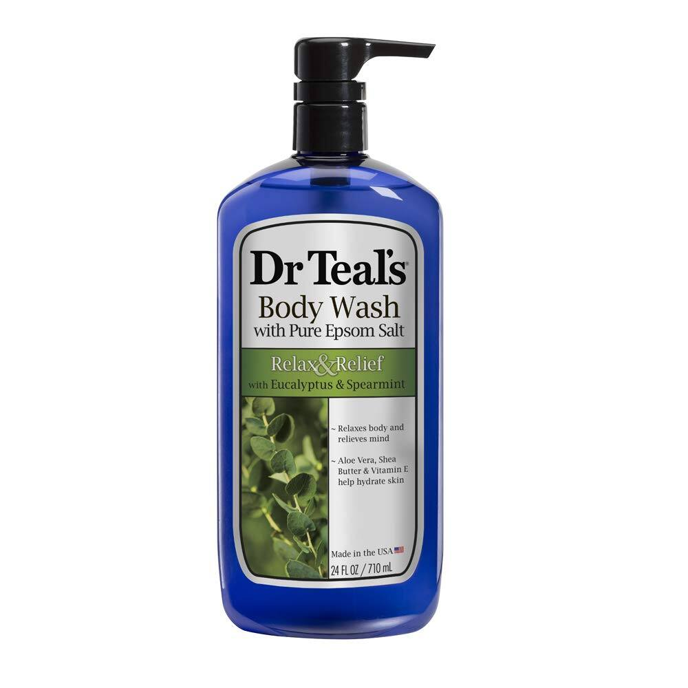 24oz Dr Teal's Ultra Moisturizing Body Wash (Eucalyptus Spearmint)