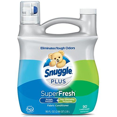 Snuggle Plus Super Fresh Liquid Fabric Softener