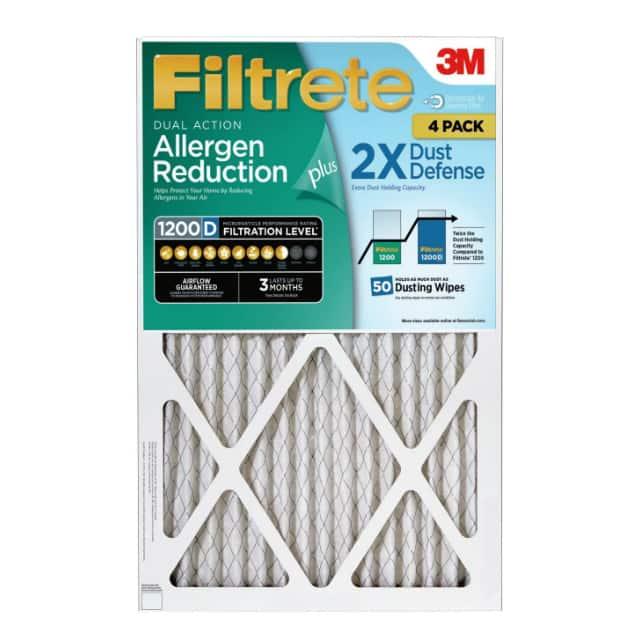 Sam's Club Members: 4-Pk Filtrete Allergen Reduction Plus 2X Dust Defense Filters