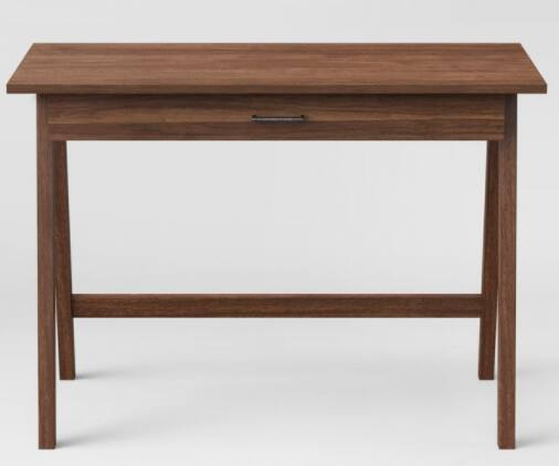 Project 62 Paulo Wood Writing Desk w/ Drawer (Various Colors)