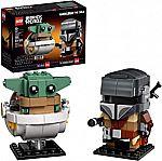 LEGO BrickHeadz Star Wars The Mandalorian & The Child 75317 Building Kit New 2020 (295 Pieces)