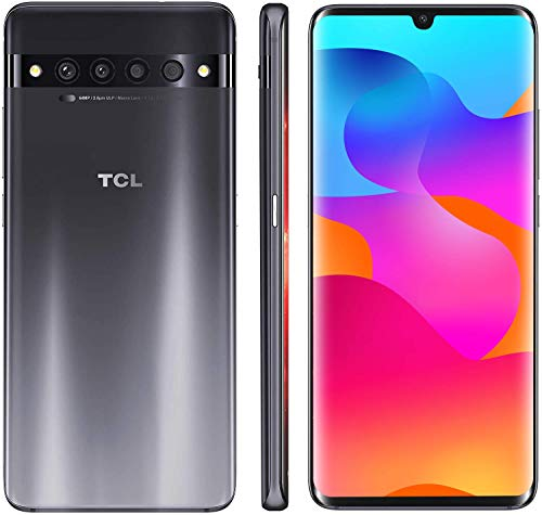 "TCL 10 Pro Unlocked Android Smartphone with 6.47"""" AMOLED FHD + Display, 64MP Quad Rear Camera System, 128GB+6GB RAM"