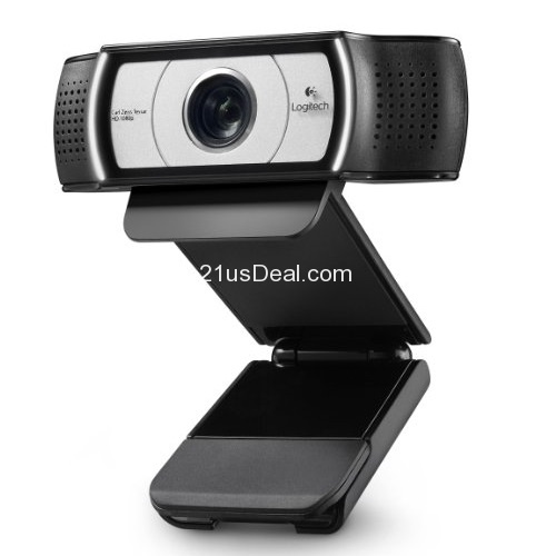 Logitech Webcam C930e (Business Product) with HD 1080p Video and 90-degree Field of View