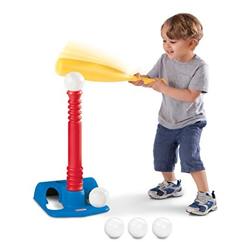 仅限今日!史低价!Little Tikes TotSports棒球玩具套装,包括五个球