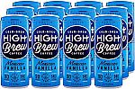 12Pk High Brew Cold Brew Coffee 8oz Mexican Vanilla