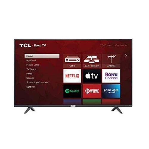 TCL S435   4K超高清  Roku TV 智能电视机,50吋