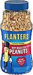 Planters Fancy Whole Cashews With Sea Salt, 33 Oz. Resealable Jar
