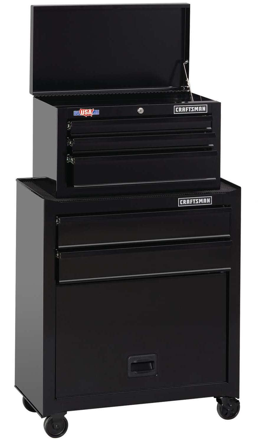 """Craftsman 1000 Series 26.5"""" 5-Drawer Tool Chest Combo"""