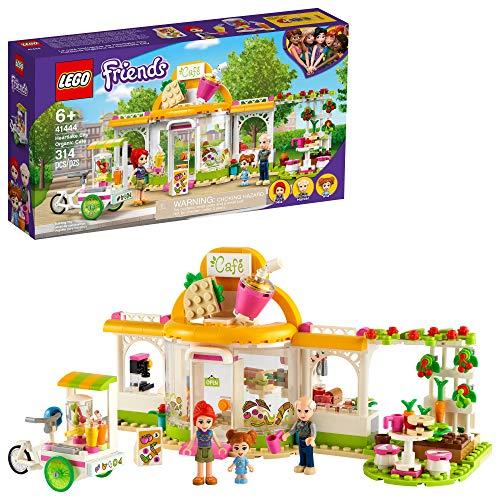 新品!LEGO乐高 Friends好朋友系列41444  心湖城有机咖啡厅