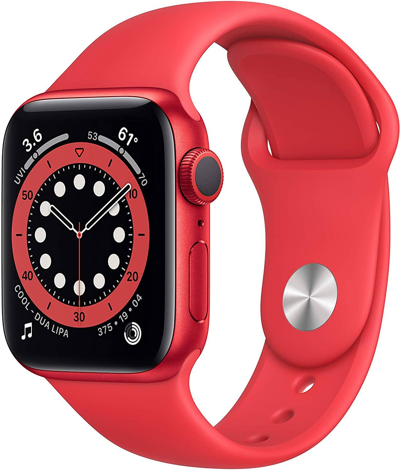 Apple Watch Series 6 40mm GPS Smartwatch (Red)