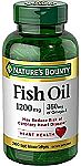 Nature's Bounty Vitamins - 200-Ct Fish Oil 1200 Mg