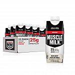 12-Pack 11-Oz. Muscle Milk Genuine Protein Shake