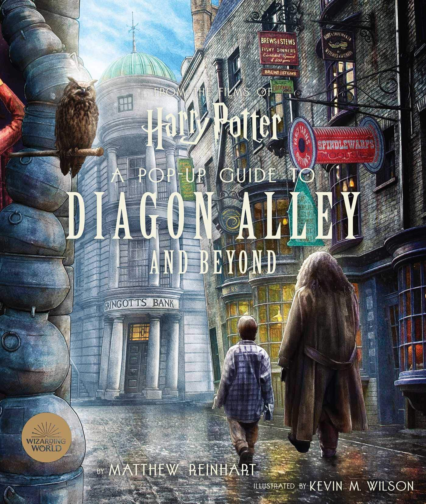 Harry Potter: A Pop-Up Guide to Diagon Alley & Beyond Hardcover Book