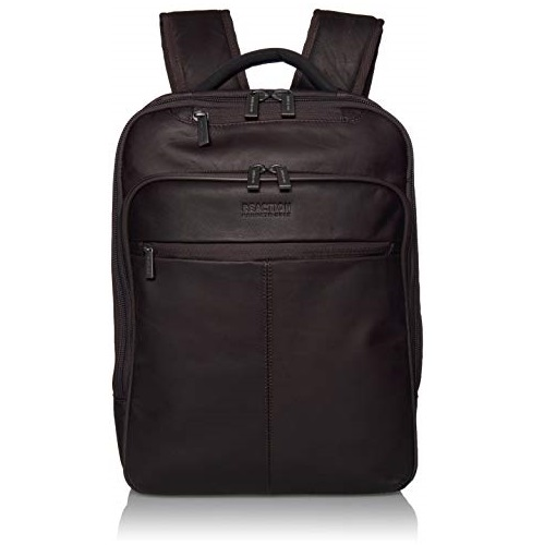 Kenneth Cole Reaction Manhattan Colombian Leather Laptop Backpack