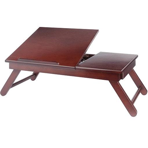 Winsome 可折叠木质小桌,床上可用