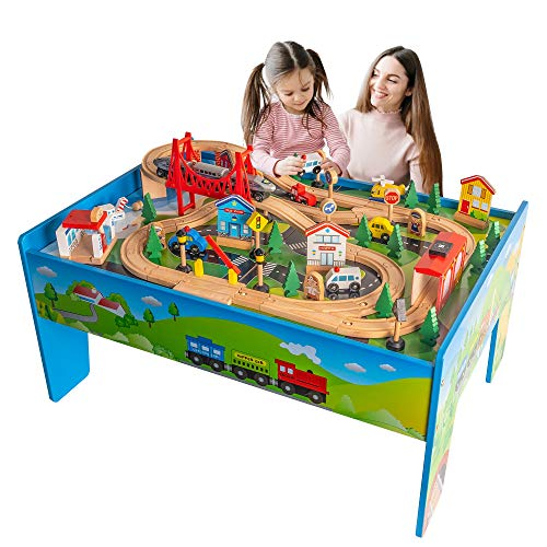 FUNPENY Train Table Toys