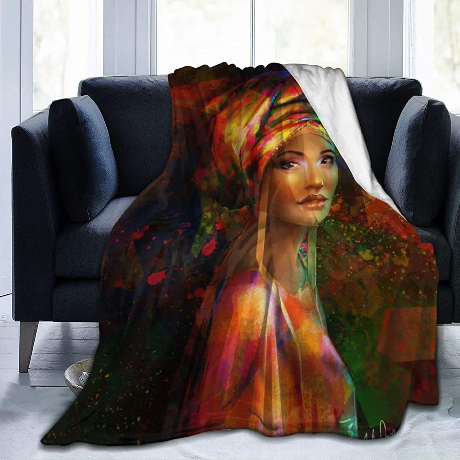 "Ewgf 50"" x 60"" Ultra Soft Microfleece Blanket"
