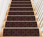 "TreadSafe Non-Slip Carpet Stair Treads (8""x30"" Set of 15)"