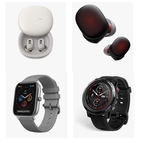 金盒特价!Amazon精选  Amazfit、 Zepp智能手表、耳机大促销!