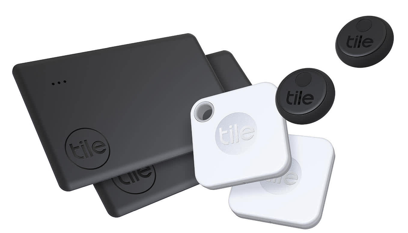 Tile Tracker Device Holiday Bundle 6-Pack