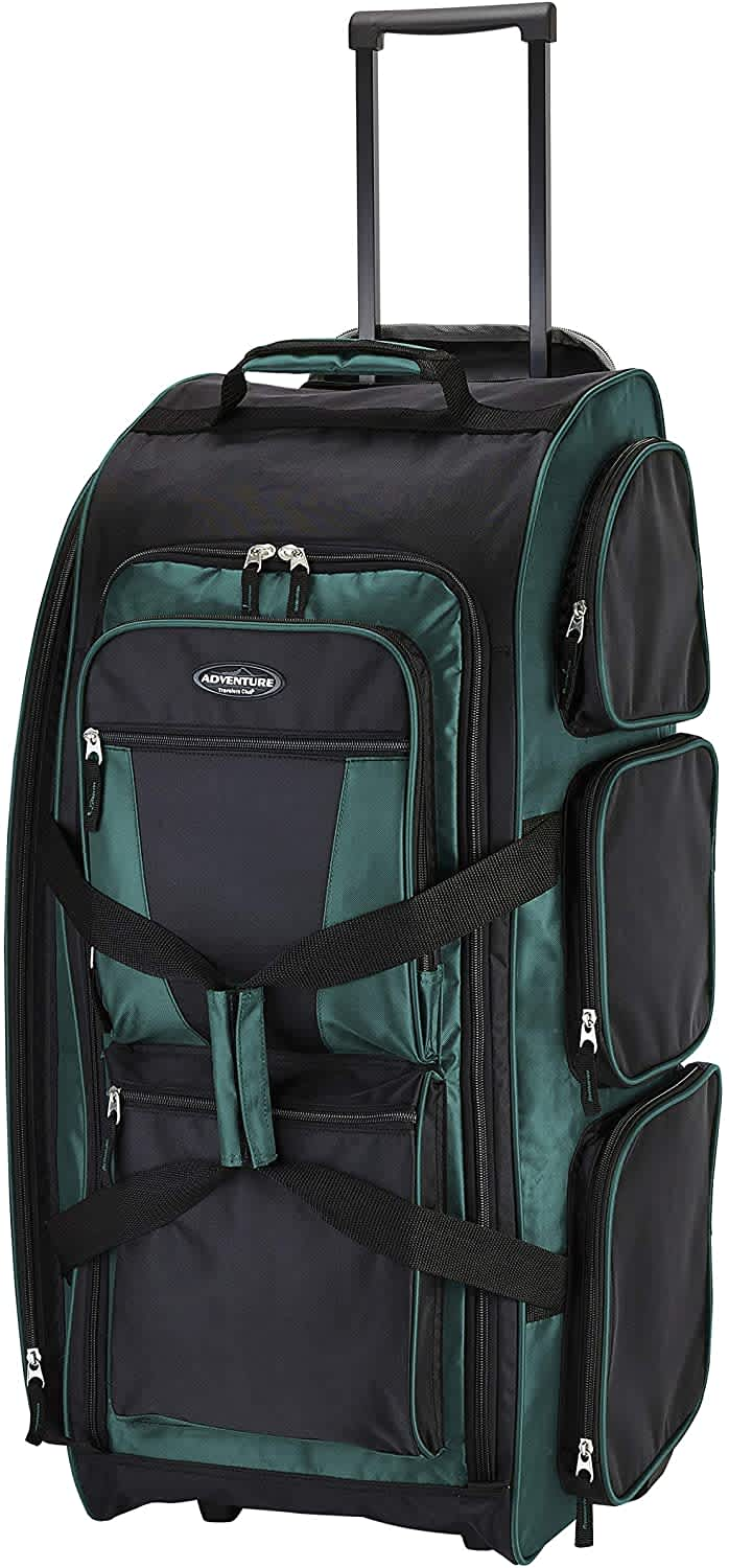 "Travelers Club 30"" Xpedition Upright Rolling Duffel Bag"