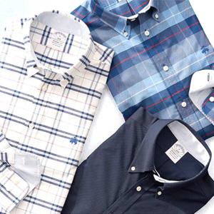 Brooks Brothers美国站精选衬衫3件$199促销