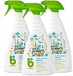 3-Count Babyganics Multi Surface Cleaner