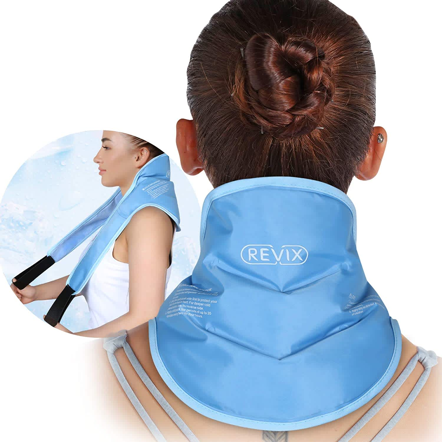 Revix Neck Ice Pack Wrap
