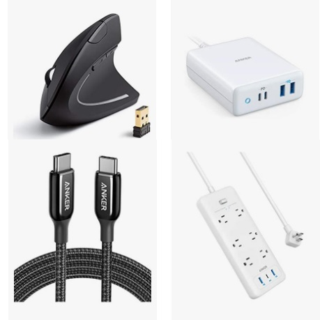 Up to 46% on Anker Laptop Charging Solutions