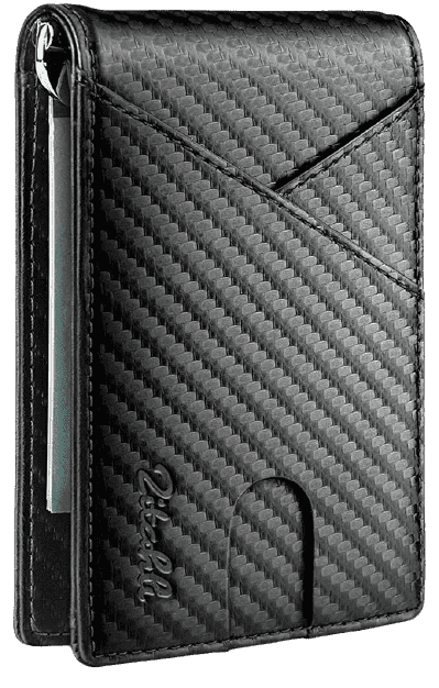 Zitahli Men's Front Pocket Wallet