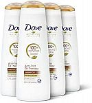 (Today Only) 4-Ct  12oz Dove Nutritive Shampoo
