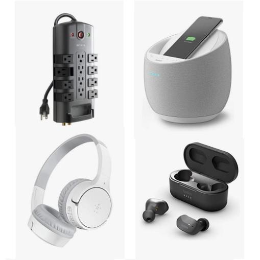 金盒特价!Amazon精选 Belkin 耳机、音响、插座等商品促销!